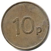 10 Pence - Ace – reverse