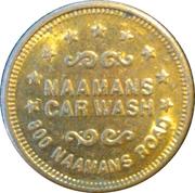 1 Dollar Car Wash Token - Naamans – obverse