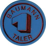 1 Taler - Baumann – obverse