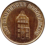 Token - Burgerhaus – obverse