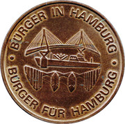 Token - Burgerhaus – reverse