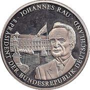 Token - Bundespräsidenten (Johannes Rau) – reverse