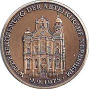 Token - Abteikirche Neresheim – reverse