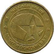 Token - 1 (Star; No Cash Value) – reverse