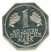 Token - 1 Deutsche Mark (40 Years Anniversary) – obverse