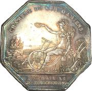 Chambre de commerce d'Amiens - Louis-Philippe – reverse