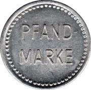 Deposit Token (Pfand-marke) – obverse