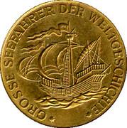 Token - Grosse Seefahrer der Weltgeschichte (James Cook) – reverse