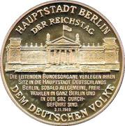 Token - Einigkeit und Recht und Freiheit (Berlin) – obverse
