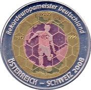 Token - Rekardeuropameister Deutschland – obverse
