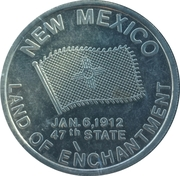 Token - Land of Enchantment – obverse