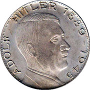 Token - Adolf Hitler – obverse
