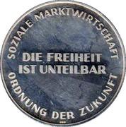 Token - Ludwig Erhard – reverse