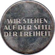 Token - Konrad Adenauer – reverse