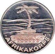 Medal - Rommel (Afrikakorps) – reverse