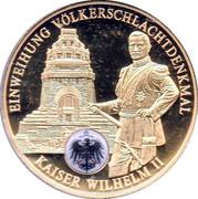 Token - Wilhelm II – obverse