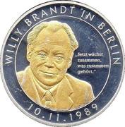 Token - Willy Brandt – obverse