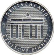 Token - Willy Brandt – reverse