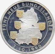 Token - 5 Neuen Bundesländer – obverse