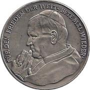 Token - Johannes Paul II – obverse