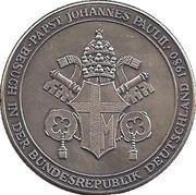 Token - Johannes Paul II – reverse