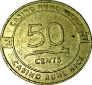 50 Cents - Casino Ruhl (Nice) – reverse