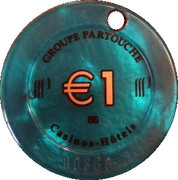 1 Euro - Berck-sur-Mer (Groupe Partouche) – reverse