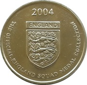 Token - Official England Squad 2004 (Nicky Butt) – reverse