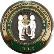 Conflict management challenge coin (USFS CELT) – obverse