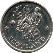 Token - FIFA World Cup 1990 (Scotland) – obverse