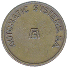 Parking Token - Automatic Systems S.A. – obverse