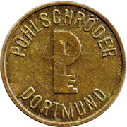 Safe deposit token - Pohlschröder (Neukirchen-Vluyn) – reverse
