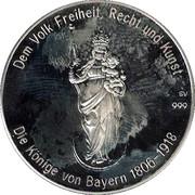 Token - Kings of Bavaria (Otto I) – reverse