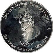 Token - Kings of Bavaria (Ludwig I) – reverse