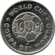 Token - FIFA World Cup 1990 (USA) – reverse