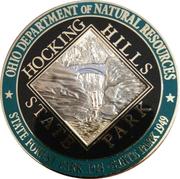 Hocking Hills State Park Challenge coin – obverse