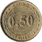 50 Centimes - Casino de Salies (Groupe Partouche) – obverse