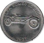 Shell Token - Weltberühmte Sportwagen (Alpha Romeo 8C 2300 - 1931) – obverse