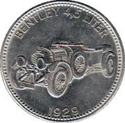 Shell Token - Weltberühmte Sportwagen (Bentley 4,5 Liter - 1929) – obverse