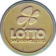Scratch Token - Sachsen Lotto – obverse