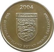 Token - Official England Squad 2004 (Wayne Bridge) – reverse