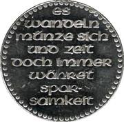 Token - Sparkasse (Historical Minting press) – reverse