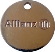 Shopping Cart Token - Allianz – obverse
