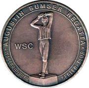 Medal - Wasserburg Summer Regatta – reverse