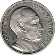 Token - Deutschland einig Vaterland (Konrad Adenauer) – obverse