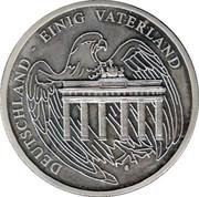 Token - Deutschland einig Vaterland (Konrad Adenauer) – reverse