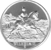 Token - Wilhelm II. – obverse