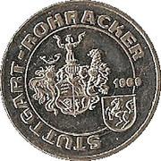 Token - Stuttgart-Rohracker – obverse