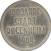 Token - Rosenheim (100 Jahre Stadt) – reverse