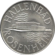 Token - Hallenbad Rosenheim – obverse